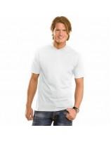 T-shirt męski V-neck biały
